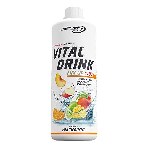 Best Body Nutrition Vital Drink Multifrucht, Getränkekonzentrat, 1000ml Flasche