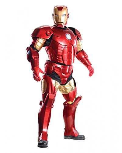 Horror-Shop Iron Man Kostüm Supreme Edition für Fasching & Halloween Standard
