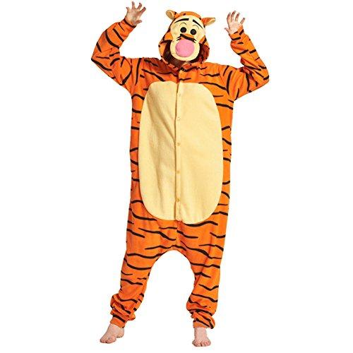 Cosplay Kostüm Flanell Pyjama - Juleya Erwachsene Anime Jumpsuit Tier Cartoon Sleepsuit Halloween (Halloween Faul Für Erwachsene Kostüme)