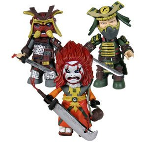 Mezco Defenders of the Dragon mezit Block Figur Set (Mortal Kombat Dragon)