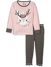 Lina Pink Bf.Pompon.Pl.Mz, Ensemble de Pyjama Fille