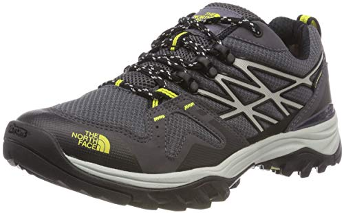 THE NORTH FACE Herren Hedgehog Fastpack GTX (eu) Trekking- & Wanderhalbschuhe, Schwarz (Blackened Pearl/Acid Yellow 5vv), 43