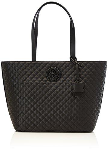 Guess Damen Bags Hobo Schultertasche, Schwarz (Black), 14x31x47 centimeters (Taschen Hobo Guess)