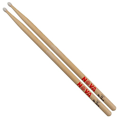 vic-firth-vfn5an-nova-5a-hickory-nylon-tip-drumsticks