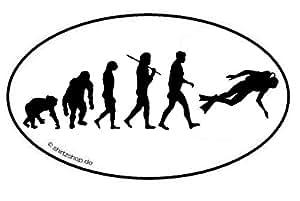 EVOLUTION TAUCHER II Aufkleber Autoaufkleber Sticker Vinylaufkleber Decal