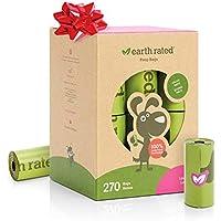 Earth Rated - Pack de bolsas para recoger excrementos de perro,  Olor a Lavanda , 18 Rollos (270 unidades)