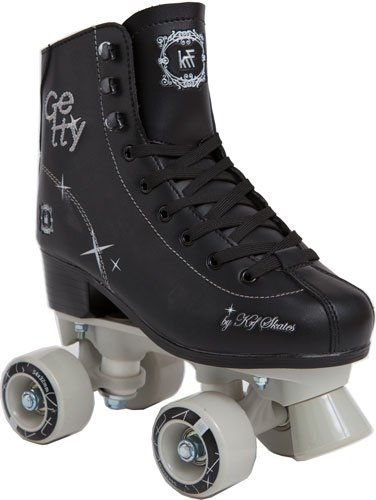 KRF Getty - Patines quad, color negro, talla 31