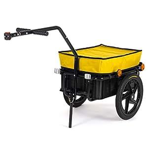 samax transportanh nger fahrradanh nger lastenanh nger fahrrad anh nger handwagen mit. Black Bedroom Furniture Sets. Home Design Ideas