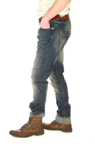 Superdry «buried indigo vintage-pour homme-denim jean pour homme Bleu - Bleu