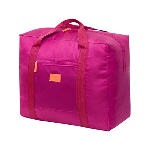 eug, Steppdecken, Kissen, Decken, Kleidung und Aufbewahrungstaschen für saisonale Artikel mit Reißverschlüssen und Griffen verwendet (Hot Pink) ()