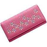 Victory Royal Women's Pink Pu Leather Wallets