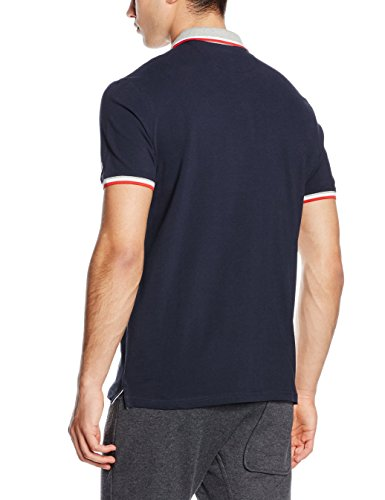 Champion Herren Polo, Dark Forest Green, XL, 209599_S16 New Navy/Oxford Grey/Chinese Red/White
