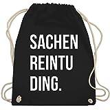 Turnbeutel - Sachenreintuding - Unisize - Schwarz - WM110 - Turnbeutel & Gym Bag