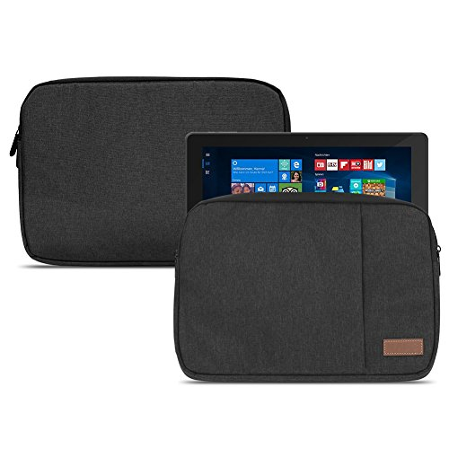 NAUC Dell Venue 11 Pro 10.8 Zoll Tablet Tasche Schutzhülle Hülle Cover Case Schwarz