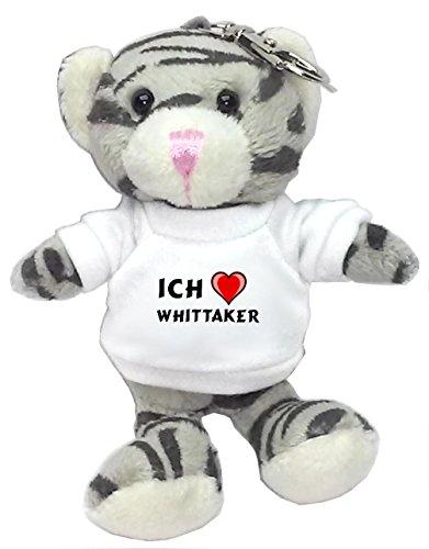 plusch-graue-katze-schlusselhalter-mit-t-shirt-mit-aufschrift-ich-liebe-whittaker-vorname-zuname-spi