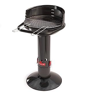 Säulengrill rund Standgrill 99-cm hoch Grillrost höhen-verstellbar (B01AJLMC3M) | Amazon Products