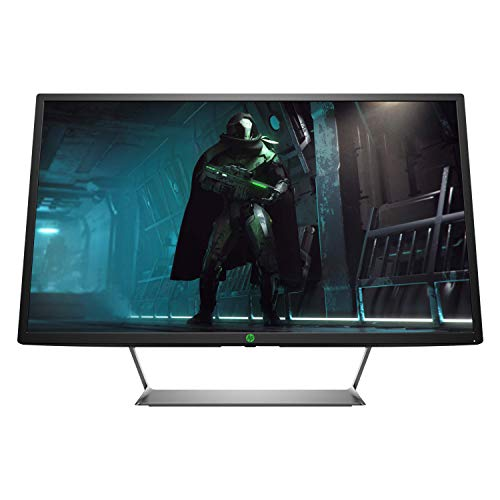 Hp 3BZ12AA Monitor Gaming Pavilion 32 Pollici, Risoluzione QHD 2560 x 1440 a 60 Hz, Tecnologia Amd Freesync, Pannello VA, Porte HDMI e Display Port, Nero