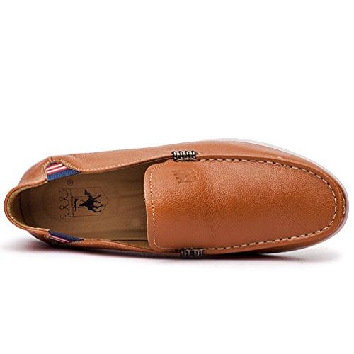 Derby Zapatos Los De Moderno Del Barco Desgaste De De Planas Mocasines Zapato Baja Claro Mocasín Compras Marrón Hombre qRwpfBf