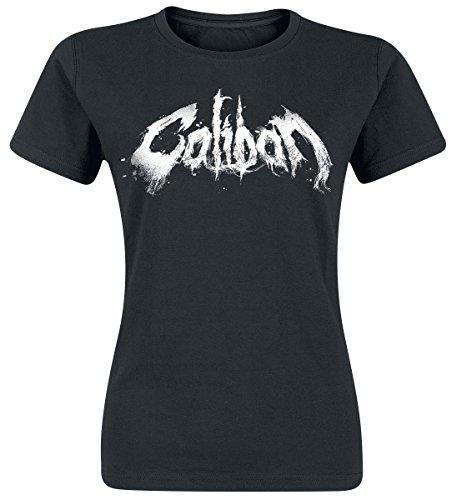 Caliban Logo Maglia donna nero M