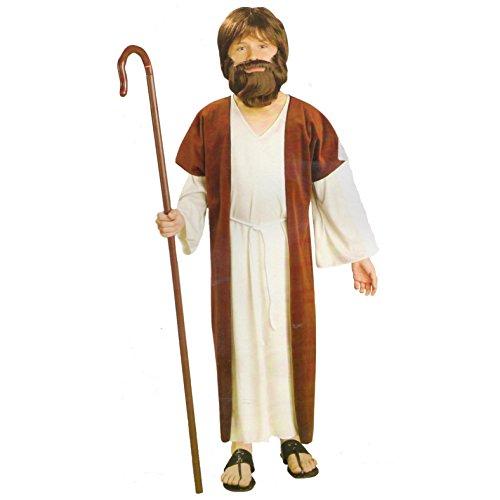 Jesus Shepherd Nativity Boys Fancy Dress Costume Age 4-6 Years