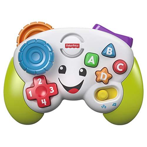 Fisher-price controller ridi e impara, insegna forme e colori, giocattolo per bambini 6+ mesi, fwg15