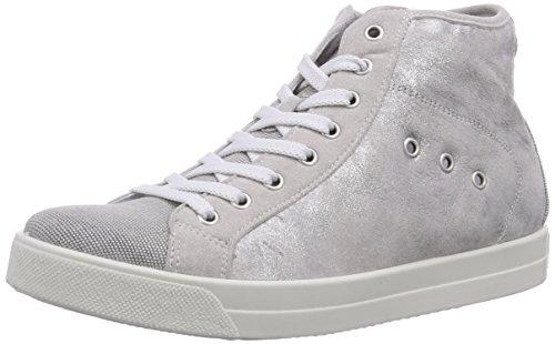 IGI&Co - Dat 13815, Sneaker alte Donna Argento (Silber (ACCIAIO/ACCIAIO))