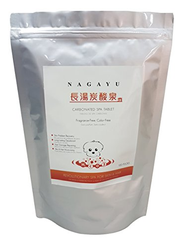 NAGAYU Carbonated Spa Tablet (100 pucks)