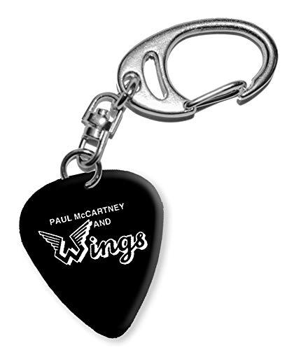 Paul McCartney Design 1 Gitarre Plektrum Keyring Schlüsselanhänger BWEG