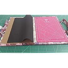 Kit de viaje patchwork con Base de corte de 24x32 cm (en centímetros y en