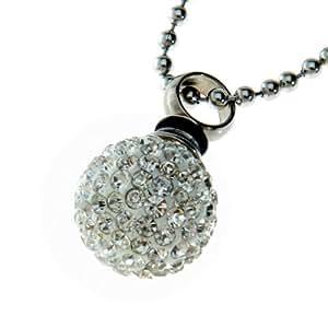 Urns UK Chelsea 19a Bijou d'incinération Pendentif pour cendres Avec collier en chaîne à boules