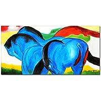 elOleo 90121A pittura olio Franz Marc -