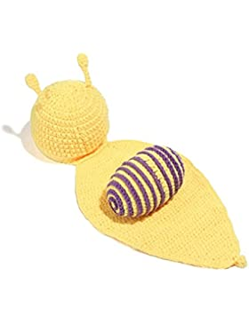 Kidslove Strickmütze Kinder Baby Kindermütze Strick Mütze Schnecke Fotoshooting Hut Kostüm Hüte