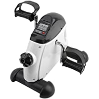 Preisvergleich für Blackpoolal Fitness Fahrrad Heimtrainer Pedaltrainer Beintrainer Bike mit LCD-Monitor Heimfahrrad Trainingsgerät Fitnessgerät