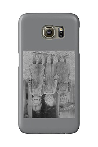 Oyster Shucker Girls in South Carolina Photograph (Galaxy S6 Cell Phone Case, Slim Barely There) Oyster Shucker