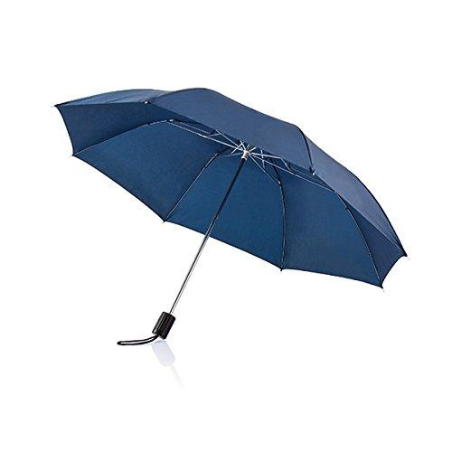 XD Parapluie Pliable Deluxe, 20 Pouces, Bleu