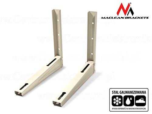 Maclean MC-624 Wandkonsole Wandhalter Wandhalterung Halterung Klimaanlagen Split Klimagerät Klimaanlage Stahl verzinkt Tragkraft 200kg
