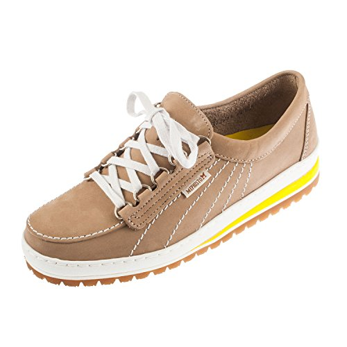 Mephisto , Baskets mode pour femme vierge Taupe Clair