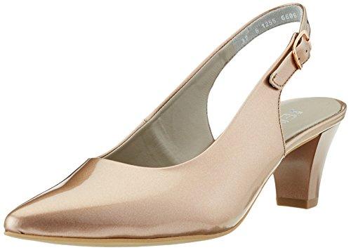 Jenny Damen Granada Pumps, Braun (Copper), 41 EU (Kupfer Schuhe)
