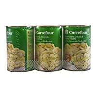 M Carrefour Mushrooms Pieces And Stems - 3 x 425 gm