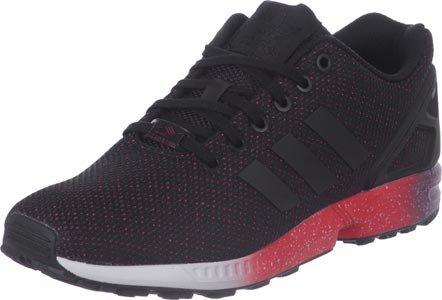 adidas ZX Flux, Chaussures de course homme noir/rouge