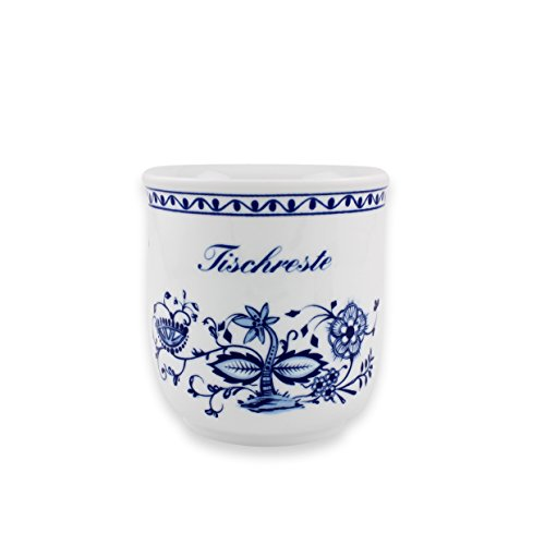 Eschenbach Porzellan Group Romantika Zwiebelmuster Tischrestebehälter 13 cm Porzellan, 1 x 1 x 1 cm