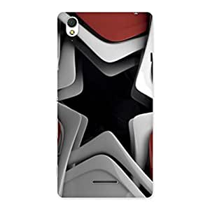Techisa Multicolor Back Case Cover for Sony Xperia T3