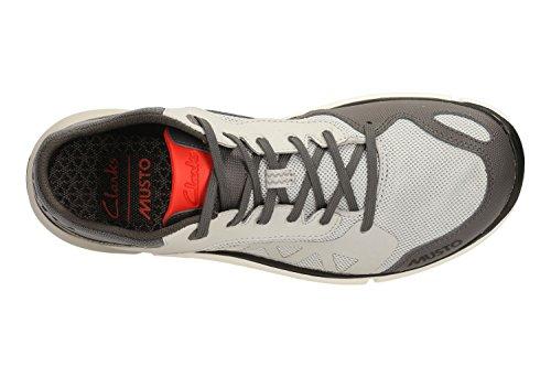 Clarks Tri Lite Herren Sneakers Grau (Light Grey)