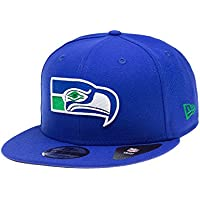 New Era Snapback Cap der Seattle Seahawks - Blaue NFL Kappe