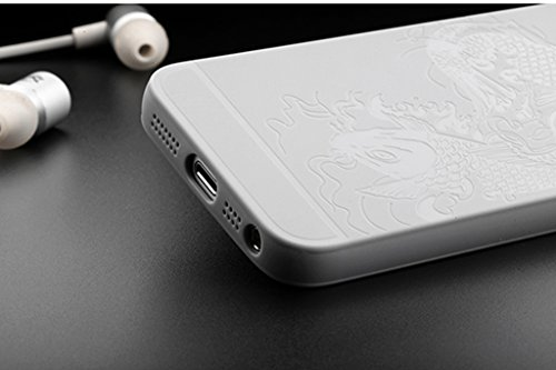 Schutzhülle Apple iPhone 7 Plus Hülle, Exquisite Fisch Muster Stoßfest Ultra Dünn Weich Silikon Rückseite Fall für Apple iPhone 7 Plus (Hot pink) Grau