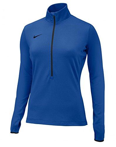 Nike Womens Team Pro Hyperwarm 1/2 Zip 3.0 Royal/Black
