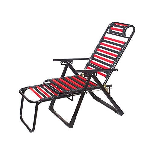 XF Klappstuhl im Freien zurück Strandkorb atmungsaktiv Gummiband Stuhl Camping Stuhl von Büro Freizeit faul Lounge Chair Outdoor-Reiseausrüstung