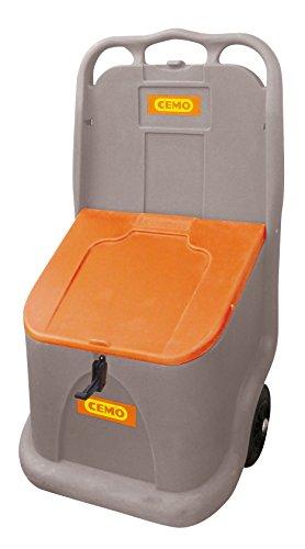 CEMO 10156 Go-Box, grau/orange, 75 L