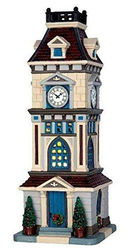Lemax - Clock Tower - 10,5cmx28,7cmx11,5cm - Beleuchteter Glockenturm - LED - Porzellan