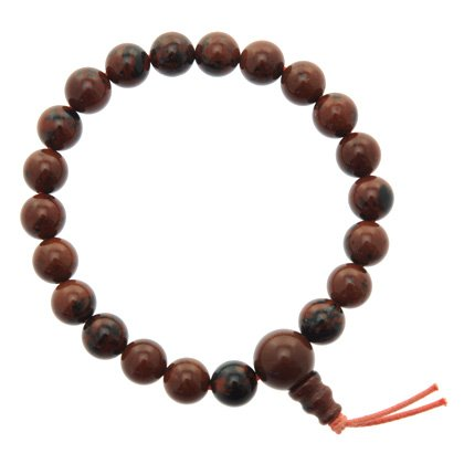 mahogany-obsidian-power-bead-bracelet